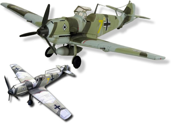 Messerschmitt 109 E, Scale 1/32