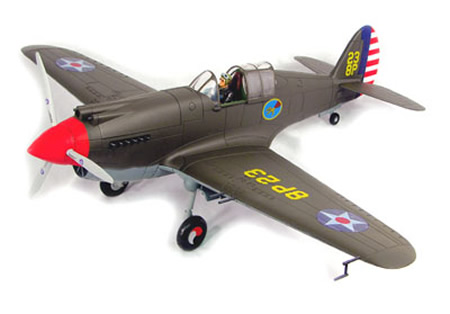Curtiss P40-B Warhawk, Scale 1/18