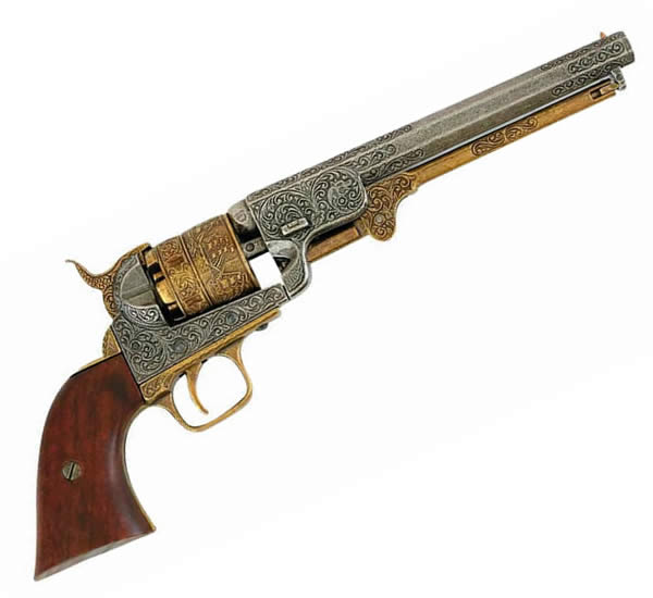 Colt US Navy, model 1.851 - Brass Trim
