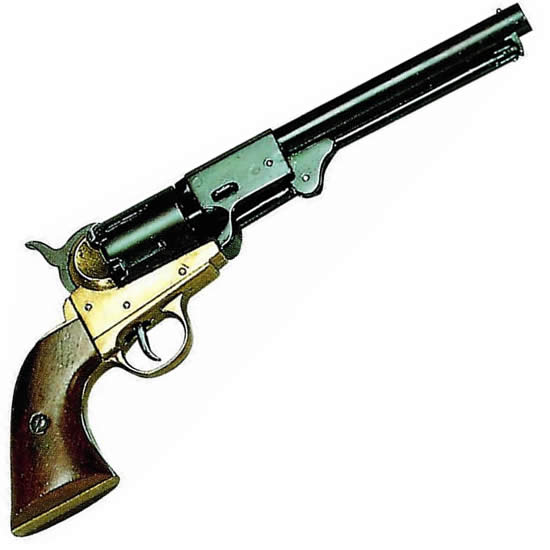 "Colt Army, modelo 1.860 ""Brass Trim"""