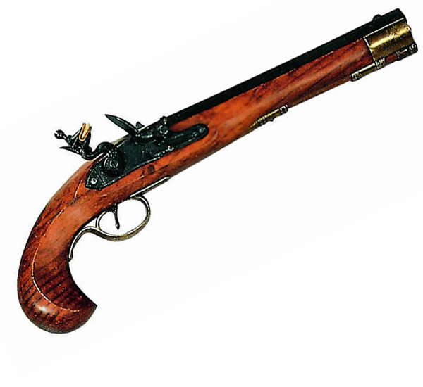 Kentucky Flintlock Pistol