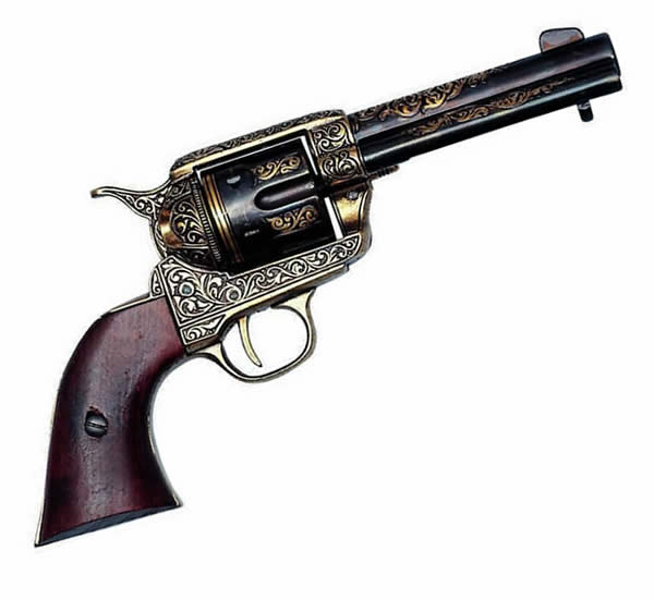 Colt 45 PeaceMaker - Brass Trim