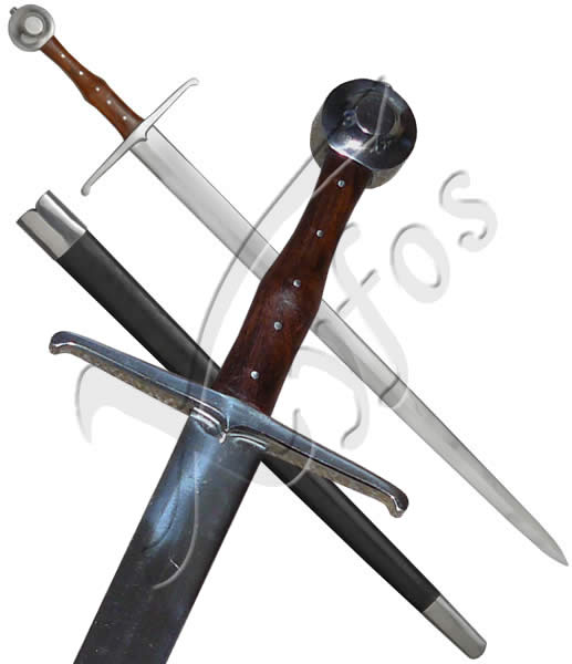 Hand a Half Sword with Scabbard