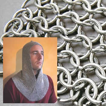 Bishop Scarf Chain mail