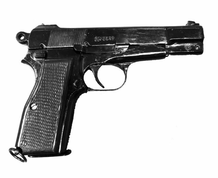 Pistola Browning HP o GP35