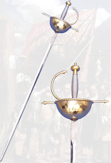 Golden Spanish Rapier