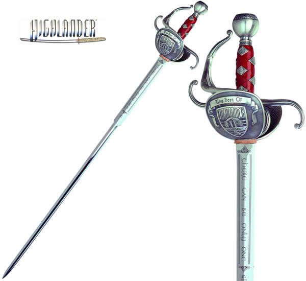 """The Best of Highlander"" Sword, silver"