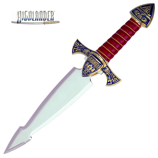 """The Best of Highlander"" Dagger, golden"