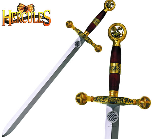 Hercules Sword, Gold