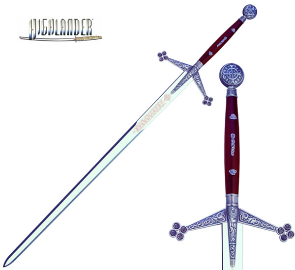 """The Best of Highlander"" Claymore, Silver"