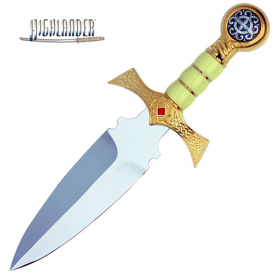 """The Best of Highlander"" Claymore Dagger, golden"