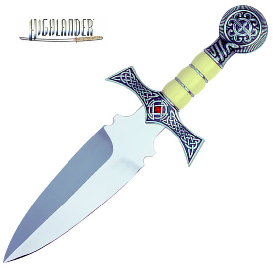 """The Best of Highlander"" Claymore Dagger, Silver"