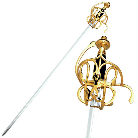 Rapier Swords- Gold