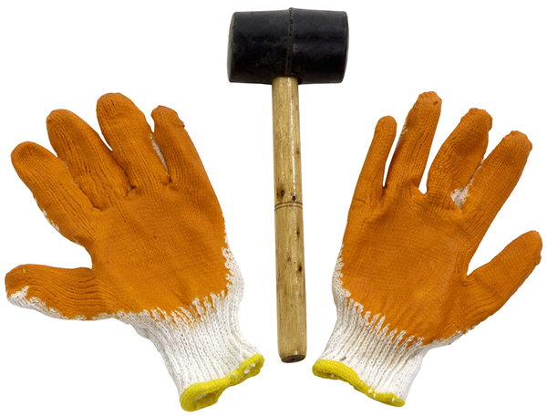 Hammer and Glove Set