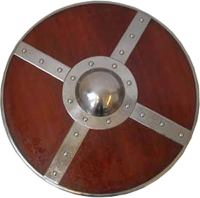 Round Fighting Shield