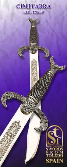 Scimitar, Sarracen Sword, silver