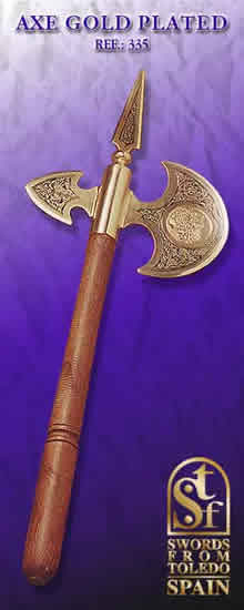 Axe Gold Plated