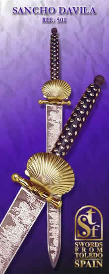 Sword of Sancho Dávila