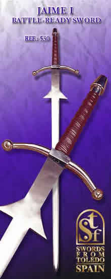 Jaime I´s Two-Hand Sword