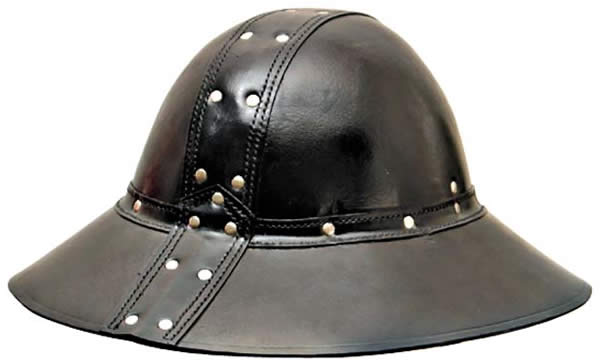 Leather English Helmet